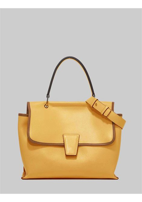 Woman Elettra Shoulder Bag in Mango Leather and Leather Carryover with Adjustable and Removable Shoulder Strap Gianni Chiarini | Bags and backpacks | BS863211811