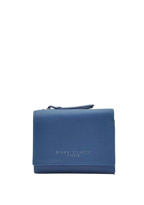 Women's Accessories Grain Wallets in Powder Blue Leather with Card Holder and Coin Purse Gianni Chiarini | Wallets | PFW506511710