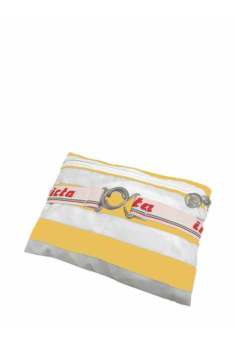 Zaino Unisex Iconico Minisac Bianco e Giallo Ripiegabile 206001662 Invicta | Borse e zaini | MINISAC236