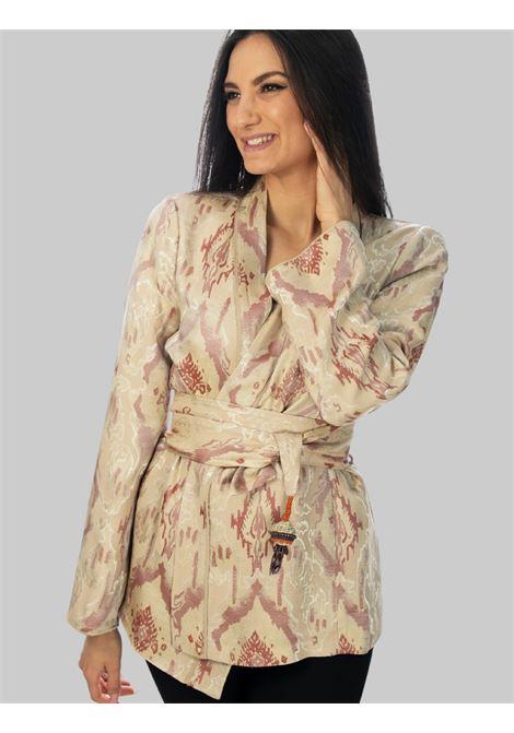 Abbigliamento Donna Giacca Flora Light Jacquard in Colore Naturale e Ricami Maliparmi | Giacche e giubbini | JD639150559B1238
