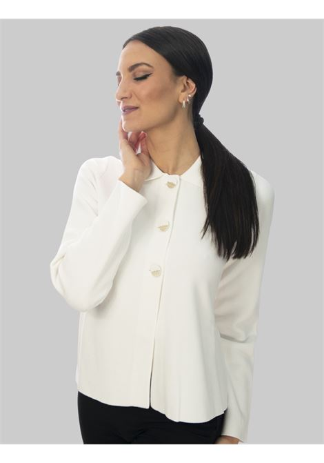 Women's Clothing Unit Milano Stitch Shirt in White Cotton With 3 Buttons Maliparmi |  | JD63937029810001