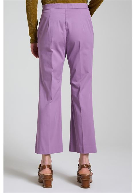 Abbigliamento Donna Pantalone Stretch Gabardine Glicine Maliparmi | Gonne e Pantaloni | JH71441013651036