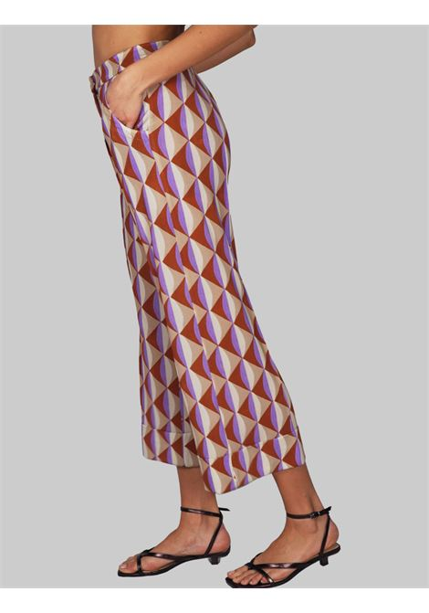Women's Clothing Symmetria Jersey Trousers with Natural Pattern Maliparmi | Skirts and Pants | JH737570496B1106