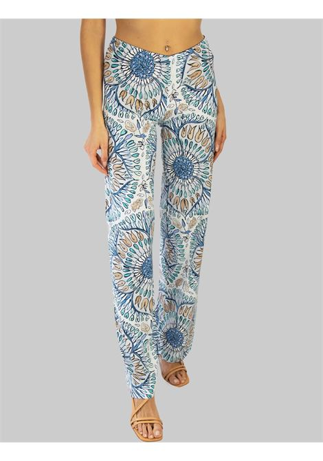 Women's Clothing Welcome Summer Pants in Blue Fantasy Maliparmi | Skirts and Pants | JH737770407A8146
