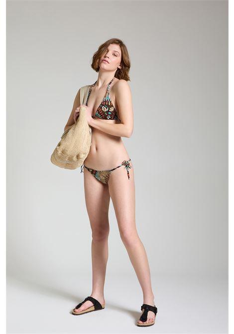 Moda mare Donna Costume Bikini Welcome Summer Taupe Maliparmi | Costumi | JJ104570407B4067