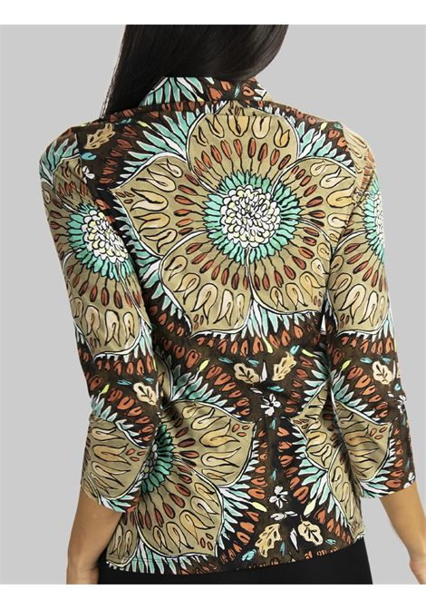 Women's Clothing Shirt Welcome Summer Jersey with Brown Pattern Maliparmi | Shirts and tops | JM542270407B4067