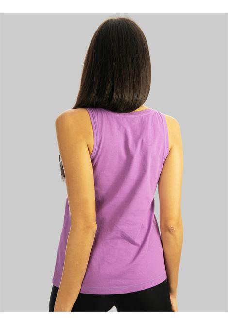 Abbigliamento Donna Canotta Patch in Cotone Glicine con Taschino Twill Fantasia Maliparmi | T-shirt e Canotte | JP54027049551036