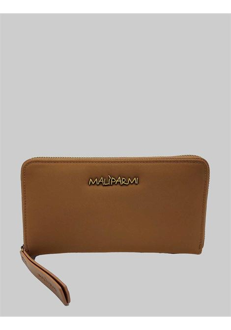 Women's Accessories Large Wallet in Beige Nylon with Card Holder and Zip Compartment for Coins Maliparmi | Wallets | OF00136004112071