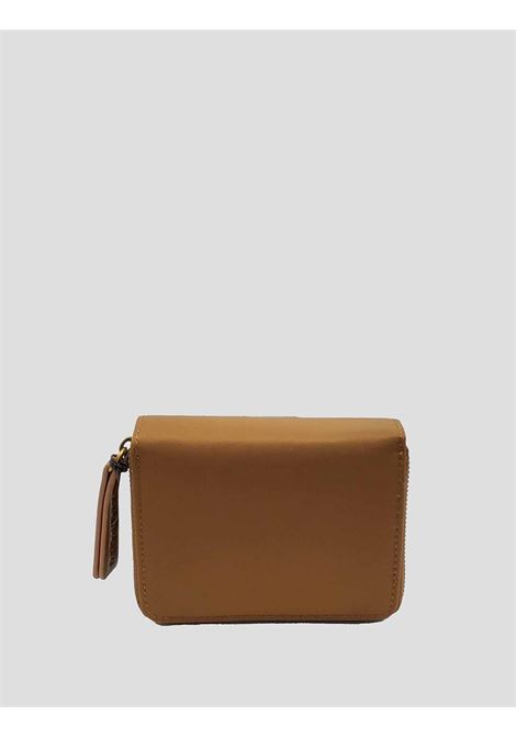 Women's Accessories Small Wallet in Beige Nylon with Card Holder and Zip Compartment for Coins Maliparmi | Wallets | OF00166004112071