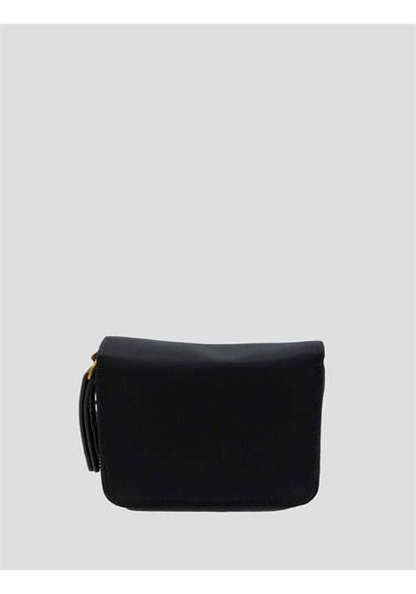 Women's Accessories Small Wallet in Black Nylon with Card Holder and Zip Compartment for Coins Maliparmi | Wallets | OF00166004120000