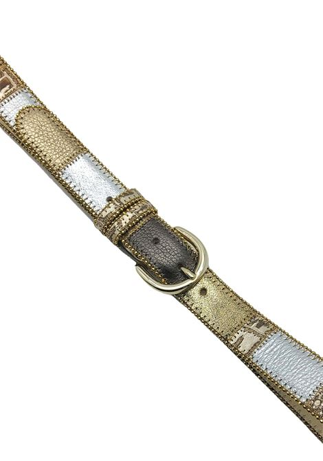 Women's Accessories Multicolor Laminated Leather Belt Nanni Milano | Belts | N167602