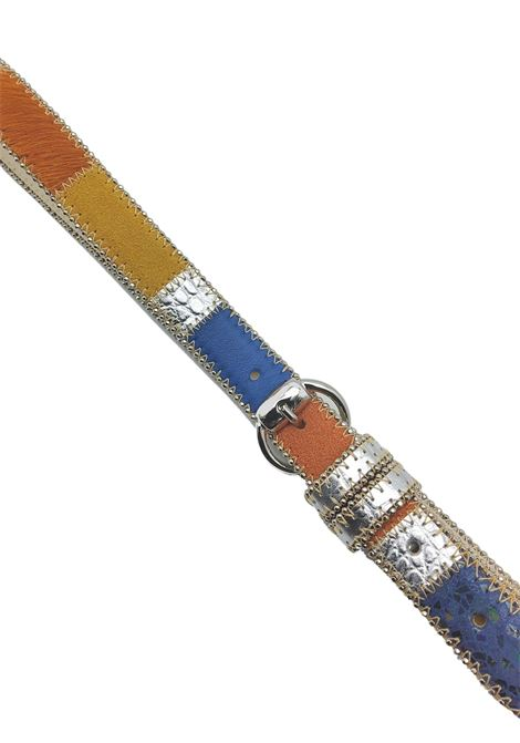 Women's Accessories Belt in Multicolored Leather and Multi Materials Nanni Milano | Belts | N623031