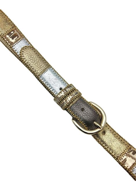 Women's Accessories Multicolor Laminated Leather Belt Nanni | Belts | N167602