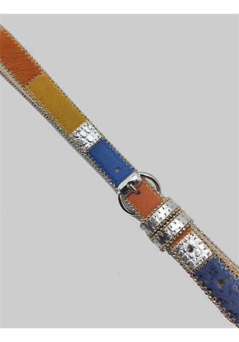 Women's Accessories Belt in Multicolored Leather and Multi Materials Nanni | Belts | N623031