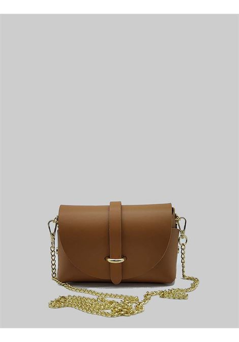 Women's Bags Small Satchel in Tan Leather with Removable Shoulder Strap Spatarella | Bags and backpacks | PE0202014