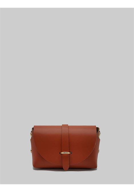 Women's Bags Small Satchel in Coral Leather with Removable Shoulder Strap Spatarella | Bags and backpacks | PE0202020