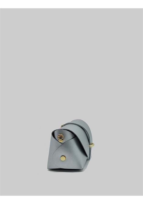Women's Bags Small Satchel in Silver Leather with Removable Shoulder Strap Spatarella | Bags and backpacks | PE0202604
