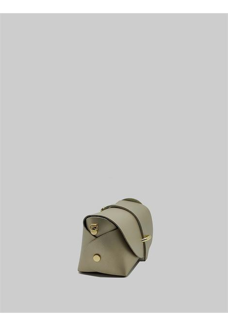 Women's Bags Small Satchel in Champagne Leather with Removable Shoulder Strap Spatarella | Bags and backpacks | PE0202607