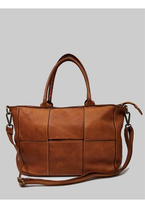 Woman Shopping Bags in Braided Leather Double Handles and Removable Leather Shoulder Strap Spatarella | Bags and backpacks | PE0206014