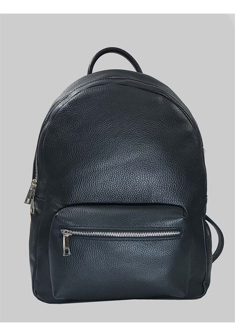 Men's Accessories Backpack In Black Leather with Small Adjustable Straps Spatarella | Bags and backpacks | PEU0206001
