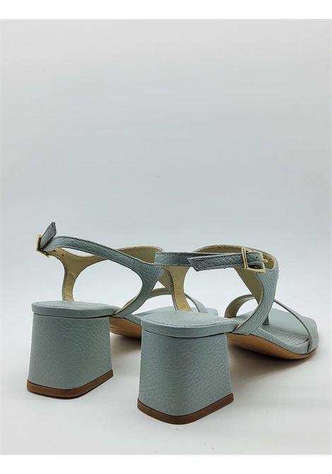 Calzature Donna Sandali Infradito In Pelle Cielo Tacco E Punta Quadra Tattoo | Sandali | 110400