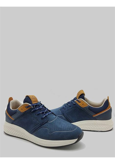 Men's Shoes Sequoia City Sneakers in Military Blue Suede with Ultralight Bottom Wrangler | Sneakers | WM11071A016
