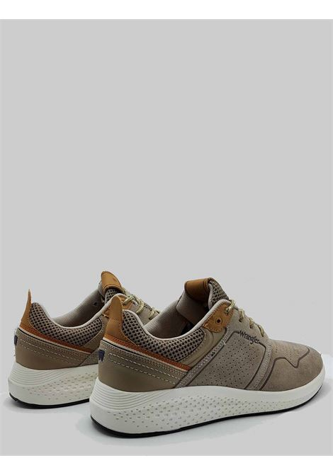 Men's Shoes Sequoia City Sneakers in Military Taupe Suede with Ultralight Bottom Wrangler |  | WM11071A025