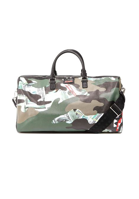 money camo shark SPRAYGROUND | Borsoni | 910D2546NSZ-