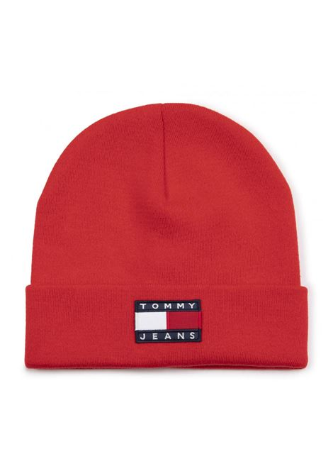 tjm heritage flag beanie TOMMY JEANS | Cupolette | M05447-XA8
