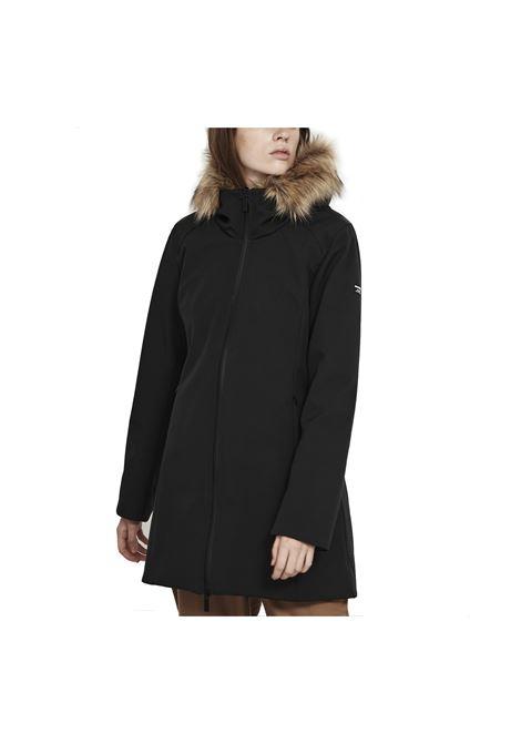 softshell fur double parka BREKKA | Giubbini | BRFW2067-BLK