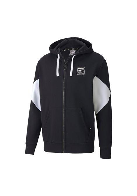 rebel full zip hoodie PUMA | Felpe | 583496-01