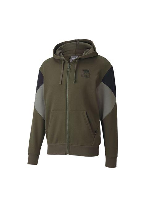 rebel full zip hoodie PUMA | Felpe | 583496-70