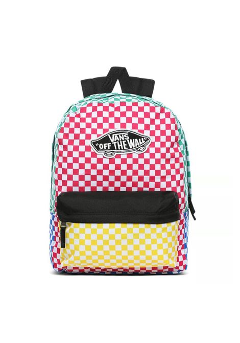 realm backpack checker block VANS | Zaini | VN0A3UI6ZL11-