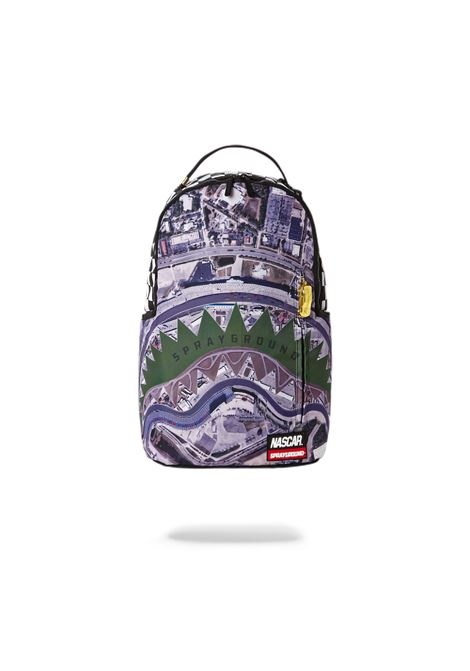 nascar track day backpack  camo red SPRAYGROUND | Zaini | 910B2669NSZ-