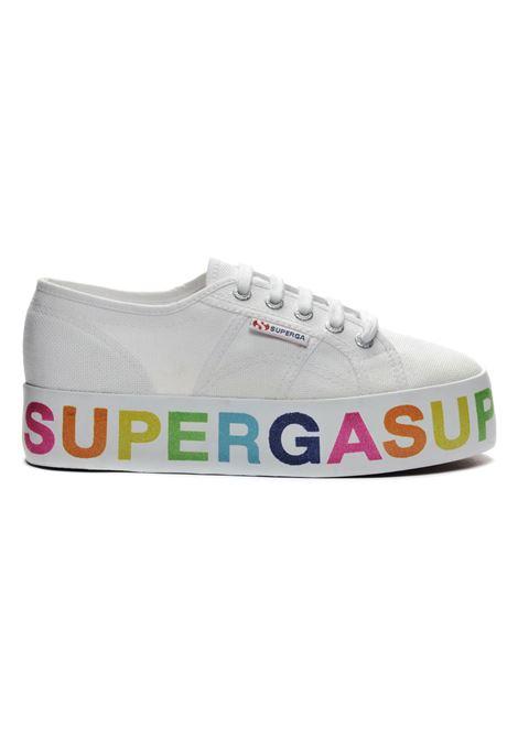2790 cotow glitterlettering SUPERGA   Sneakers   S111TRW-A04