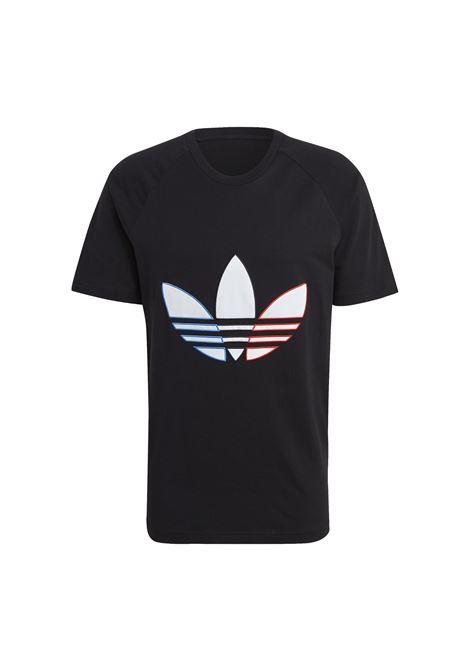 tricolor tee ADIDAS ORIGINAL | T-shirt | GQ8919-