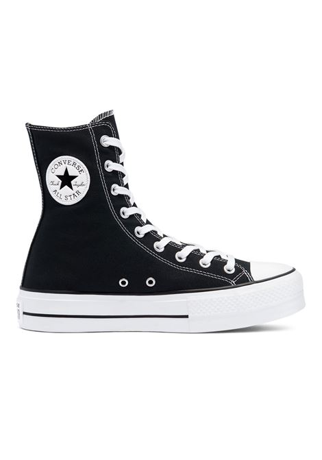 chuck taylor all star lift - xhi  black white alta CONVERSE | Sneakers | 170522C-
