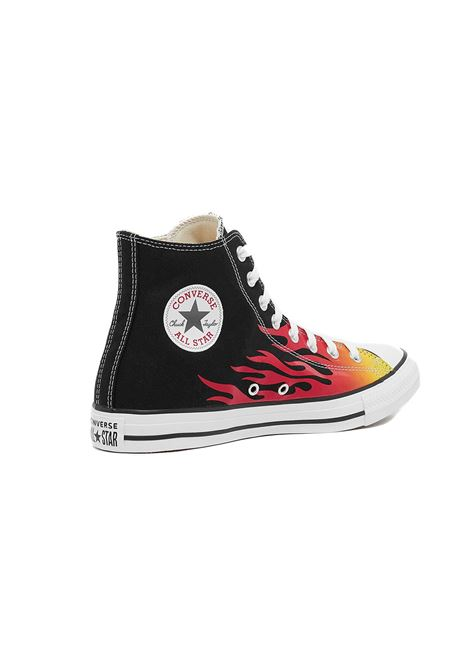 chuck taylor all star - hi black/enamel red flame CONVERSE | Sneakers | 171130C-