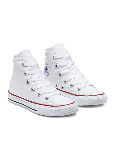 chuck taylor all star - hi -white CONVERSE | Sneakers | 3J253C-