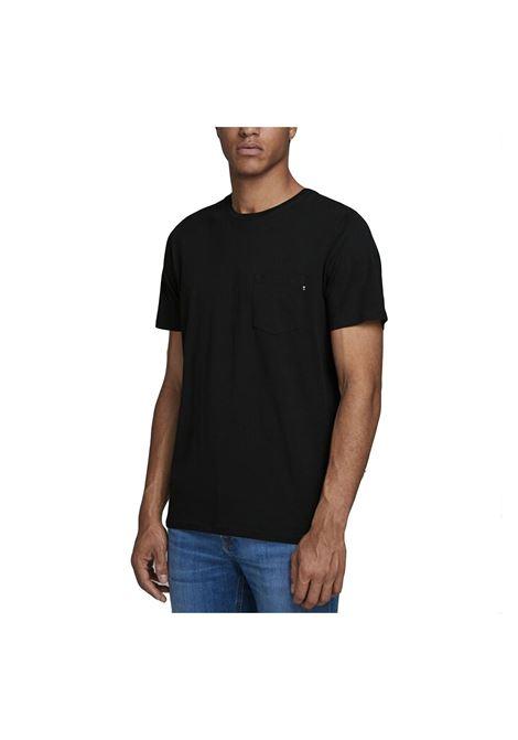 JJE POCKET TEE JACK & JONES | T-shirt | 12136714-BLACK