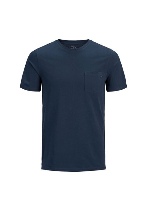 JJE POCKET TEE JACK & JONES | T-shirt | 12136714-NAVY