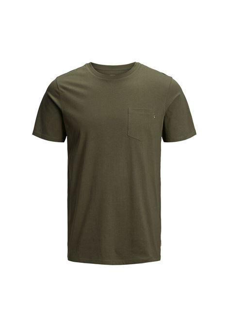 JJE POCKET TEE JACK & JONES | T-shirt | 12136714-OLIVE
