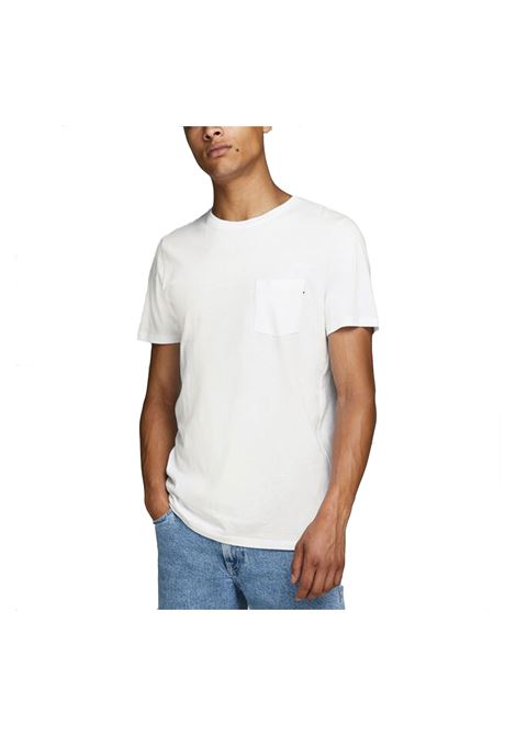JJE POCKET TEE JACK & JONES | T-shirt | 12136714-WHITE