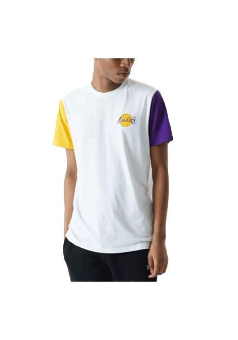 COLOR BLOCK TEE L.A. LAKERS NEW ERA | T-shirt | 12553340-