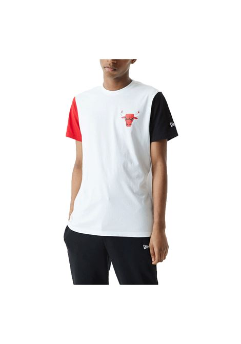 COLOR BLOCK TEE C.BULLS NEW ERA | T-shirt | 12553341-