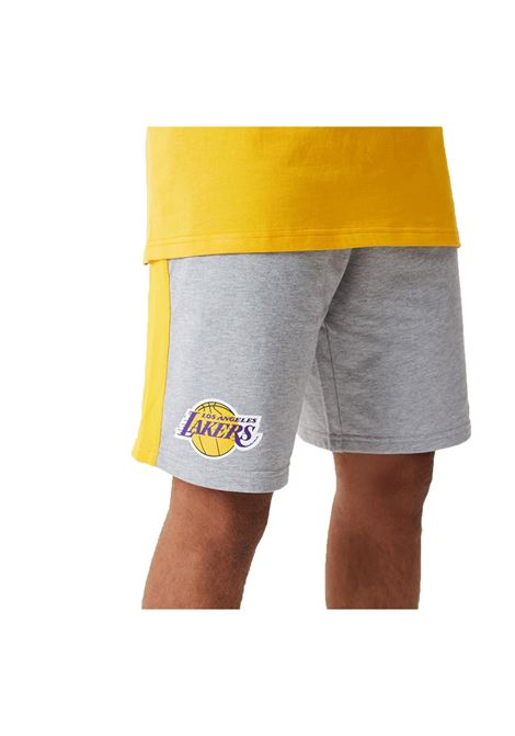NBA SIDE PANEL SHORT L.A.LAKERS NEW ERA | Shorts | 12590889-