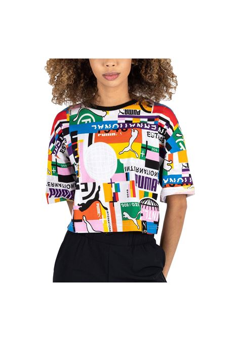 pi aop tee cropp PUMA | T-shirt | 530740-02