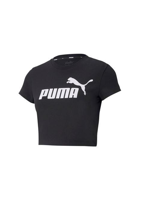 ess slim logo tee cropp PUMA | T-shirt | 586865-01