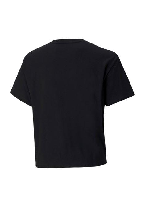 ess+logo silhouette tee PUMA | T-shirt | 587044-01