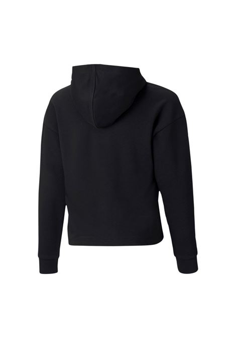 ess+logo cropped hoodie PUMA | Felpe | 587046-01